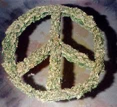 Marijuana Peace Sign