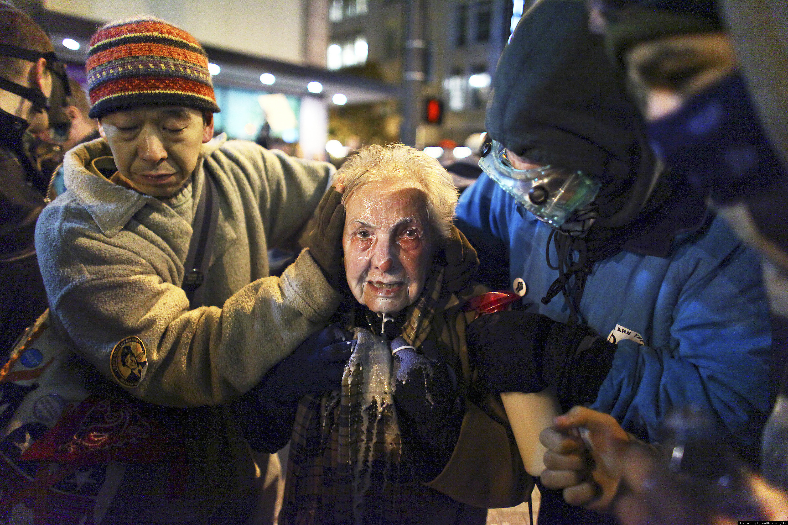 Dorli rainey 84 year old occupy seattle protester pepper sprayed in