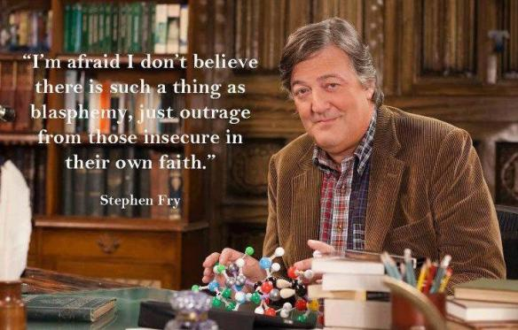 "Stephen Fry: ""Blasphemy"""