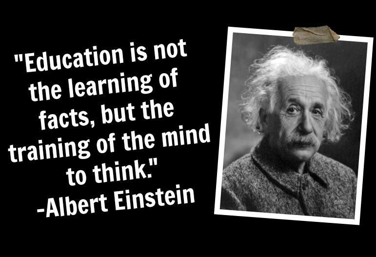 Quotation On Education Albert Einstein Always