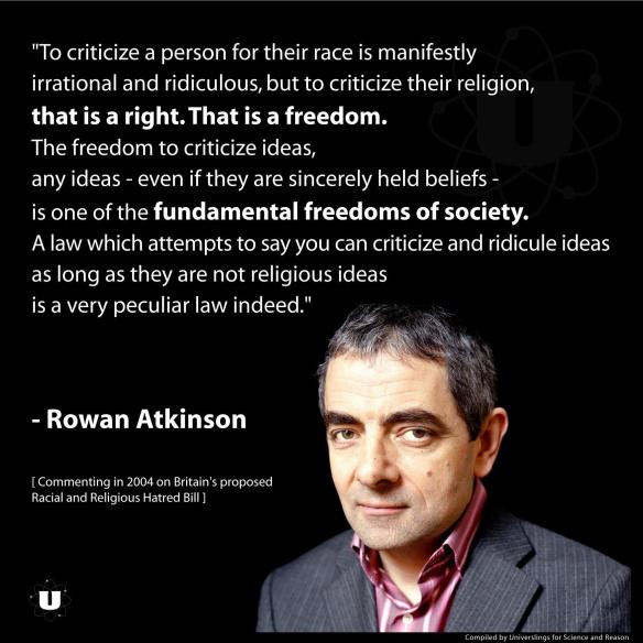 The Freedom to Criticize Ideas