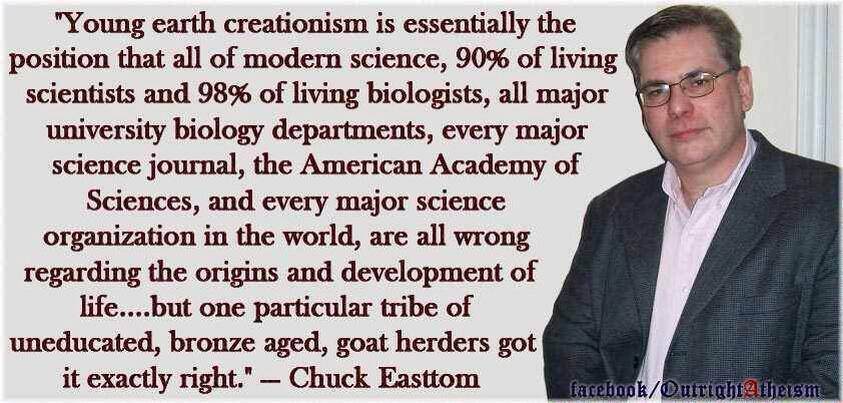 the problem with evolutionists problem in the creationist battle It's more appropriate for debunking creationism, not e&ns problem of induction - they fail to note the role of experimentation in scientific method.