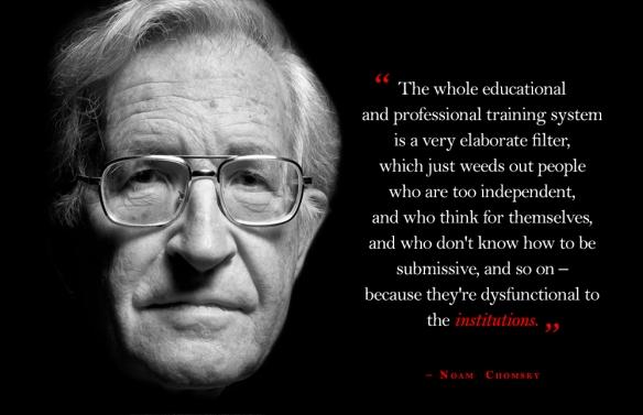 Noam Chomsky on the Educational System