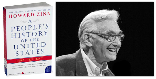howard zinn the people of the united Paralleling the twenty-four chapters of howard zinn's a people's history of the united states, voices of a people's history makes an excellent companion.