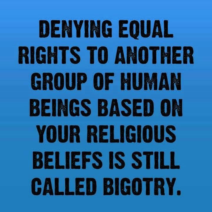 "CHRISTIAN BIGOTRY: ""Religion Begets Bigotry"" | Always Question ..."
