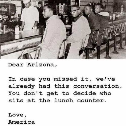 Dear Arizona,