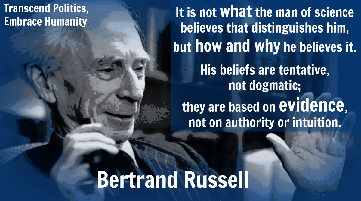 "Quotes About Critical Thinking Critical Thinking ""On Tentative Vsdogmatic Beliefs""  Bertrand"