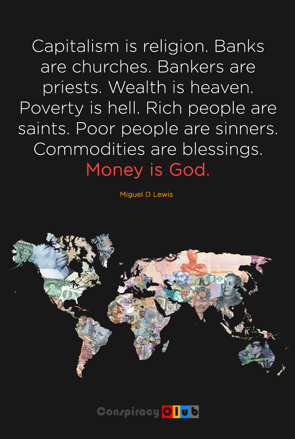 corporate capitalism �capitalism is religion