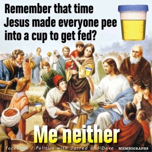 Where was the drug test in the Bible again?