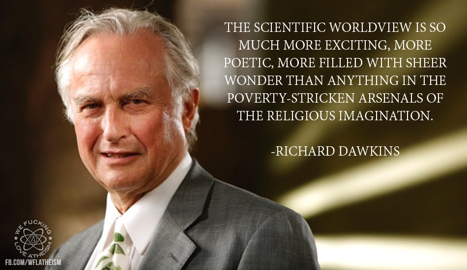 an overview of richard dawkins worldview He suggests that an atheistic worldview is life  richard dawkins' the god delusion and atheist  a detailed summary and review of the god delusion, .