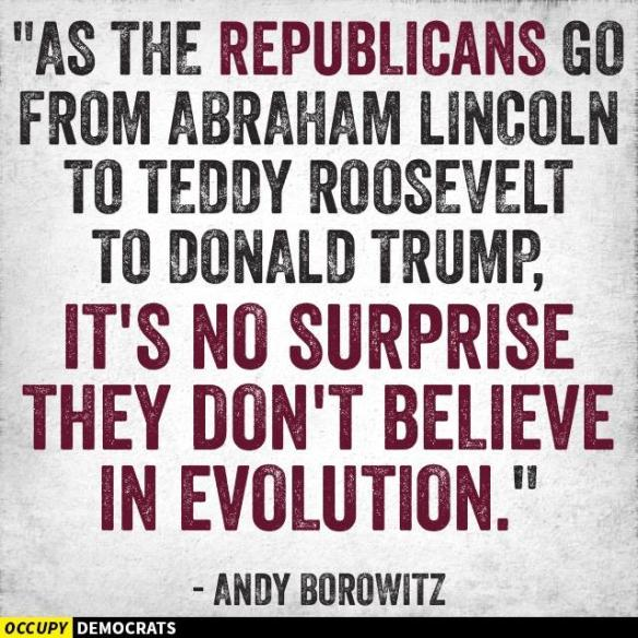 Republicans and Evolution