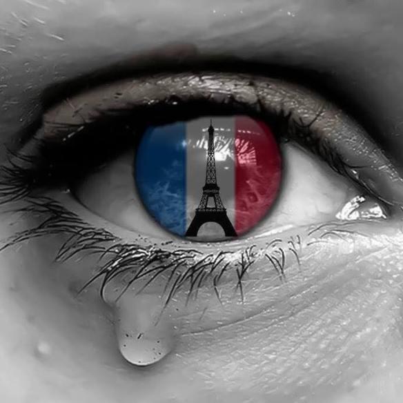 Eiffel Tower Flag Eye
