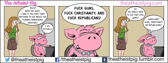 The Atheist Pig