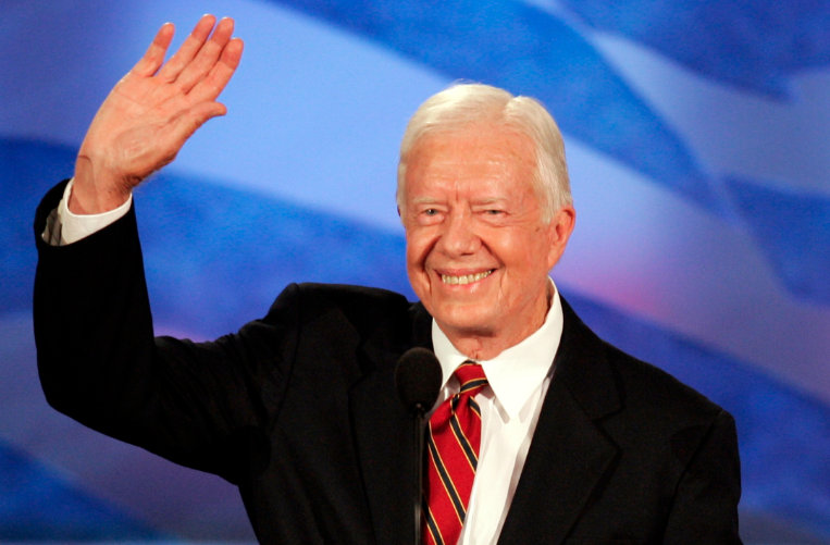 an analysis of jimmy carter as the president of peace We can choose to work together for peace carter center podcast president jimmy carter gets candid about china and the factors that led to his decision to.