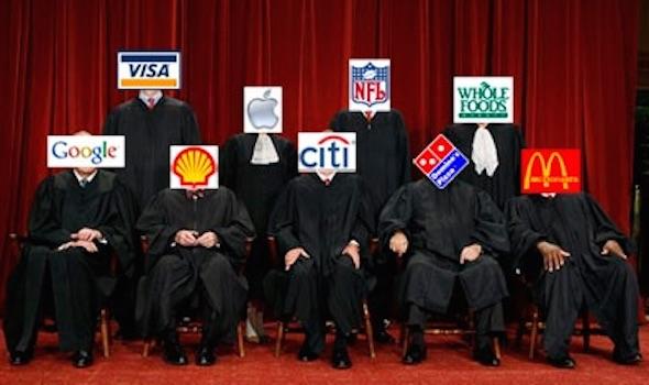 SCOTUS Corporatocracy
