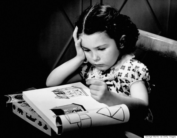 Girl with Coloring Book