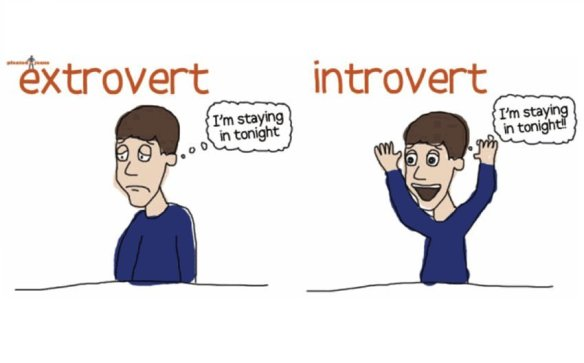 Introvert, and an Extrovert