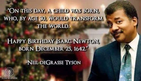 Newton Birthday