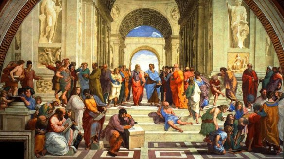 Raphael's painting: The School of Athens