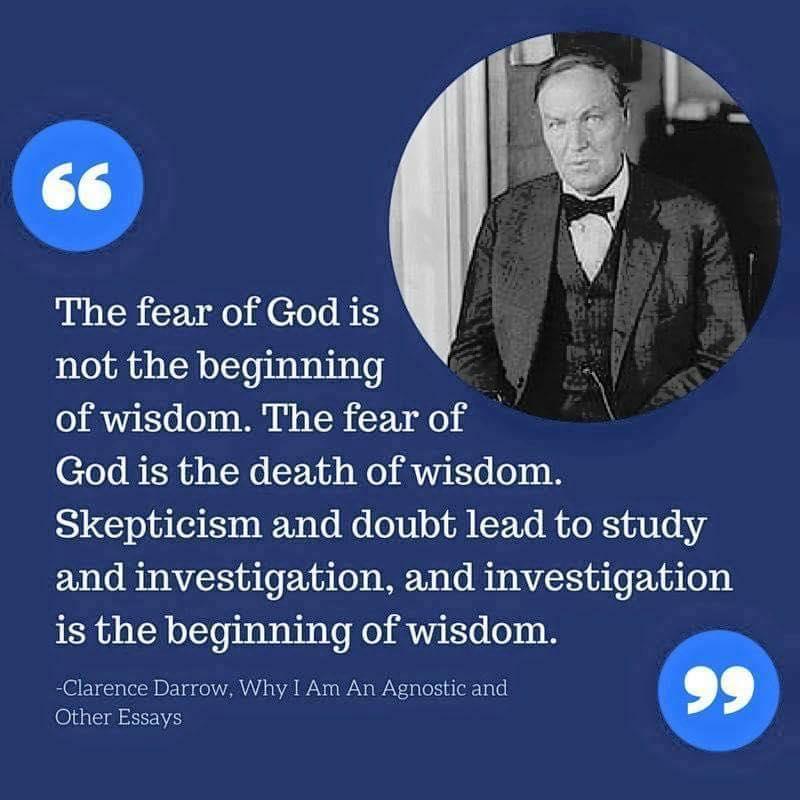 critical thinking fear