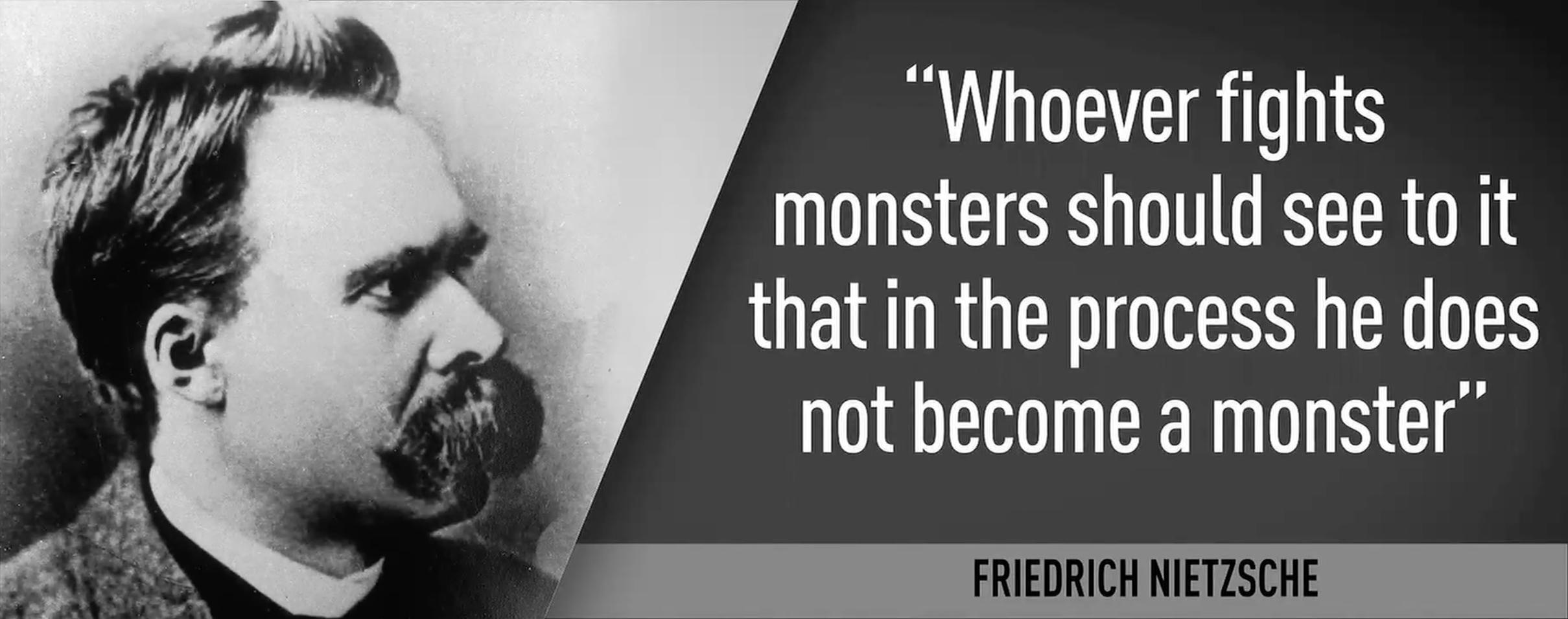 Citation Nietzsche Monstre : Friedrich nietzsche always question authority